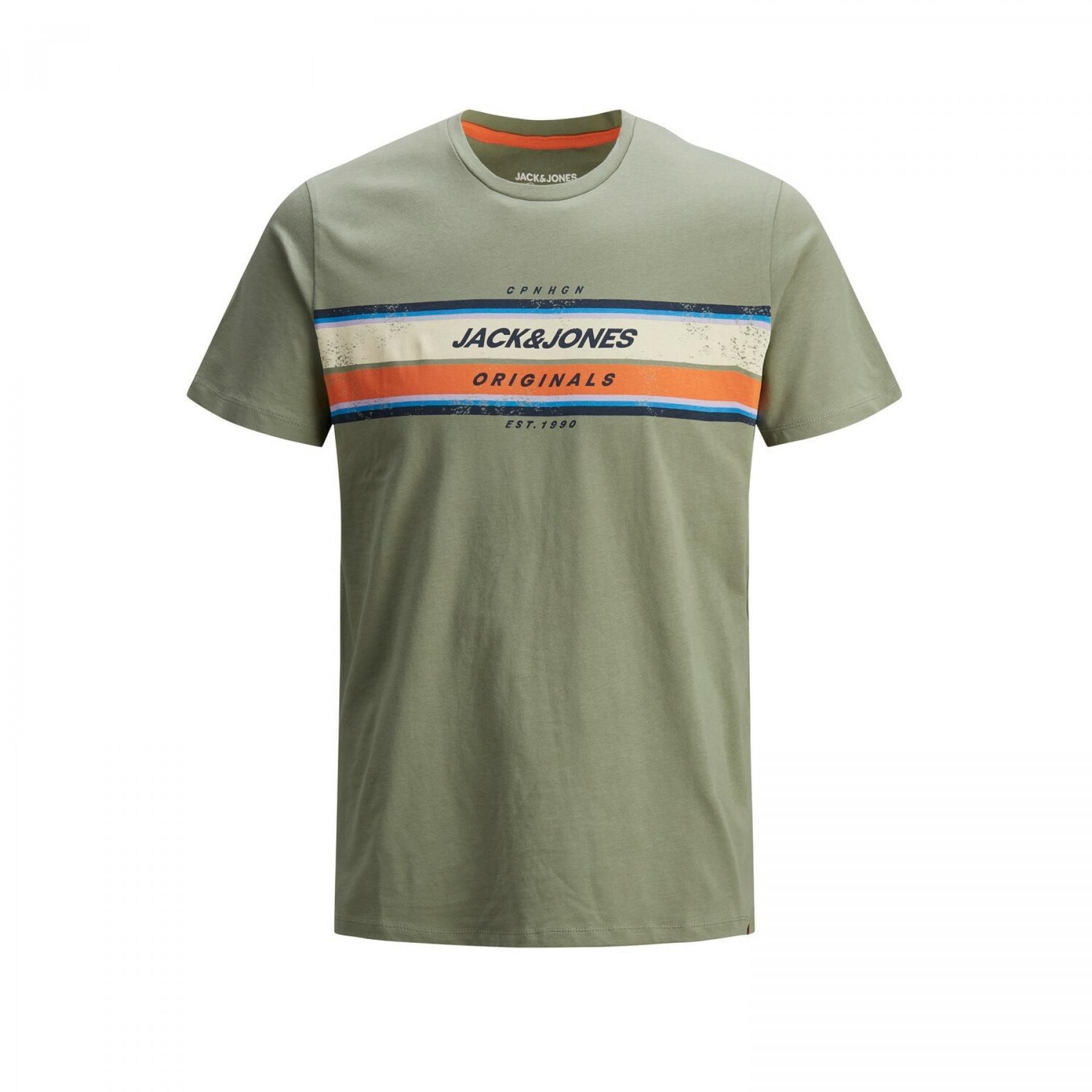 T-shirt Jack & Jones col ras-du-cou tyler