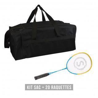 Kit raquettes (sac + 20 raquettes) enfant Sporti France School 58