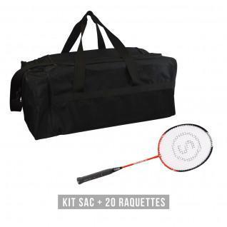 Kit raquettes (sac + 20 raquettes) enfant Sporti France  Discovery 61