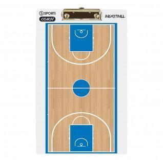 Plaquette coach 3D Basket ball Sporti France