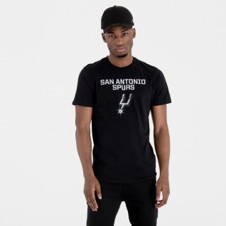 T-shirt New Era logo San Antonio Spurs