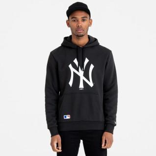 Sweat à capuche New Era New York Yankees logo