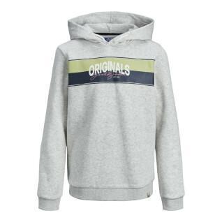 Sweatshirt à capuche enfant Jack & Jones Mason