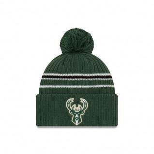 Bonnet New Era Bh19 Knit Milwaukee Bucks
