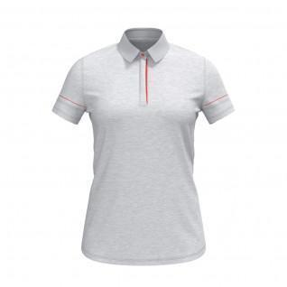 Polo femme Under Armour à manches courtes chiné Zinger
