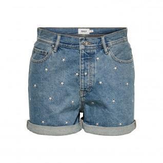 Short en jeans femme Only onljosie life