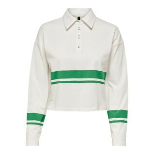 Polo manches longues femme Only onllima