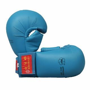 Gants de karate avec pouce Hayashi WKF approved