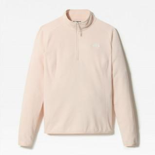 Pull-over femme 1/4 Zip The North Face Polaire 100 Glacier
