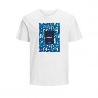 T-shirt Jack & Jones Jorcolton print crew neck