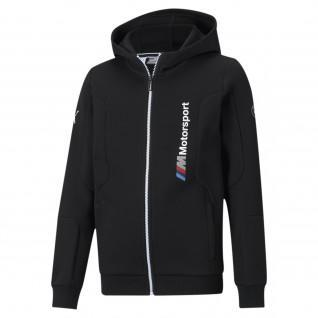 Sweatshirt à capuche enfant Puma BMW MMS Jacket