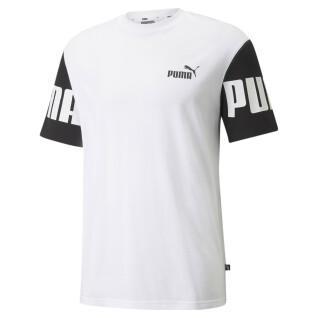 T-shirt Puma Power Colorblock