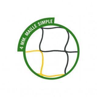 Filet de foot à 11 SportiFrance bicolore