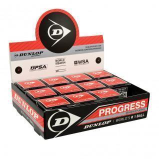 Balle de squash Dunlop progress