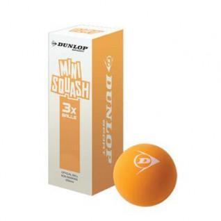 Lot de 3 balles de squash Dunlop play