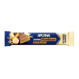 Boîte de 20 barres Apurna Energie Moelleuse Banane Céréales