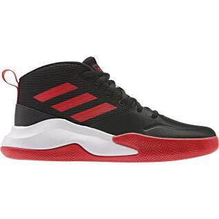 Chaussures kid adidas Own the Game Wide