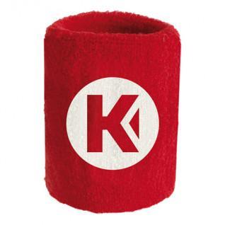 Poignet éponge kempa Core rouge 9 cm (x1)