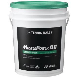 Baril balles tennis Yonex TMP-40 x60
