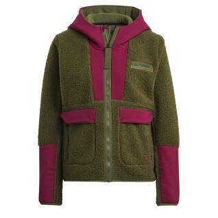 Sweatshirt femme adidas Terrex Sherpa ed Fleece
