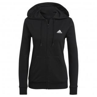 Sweatshirt zippé à capuche femme adidas Essentials