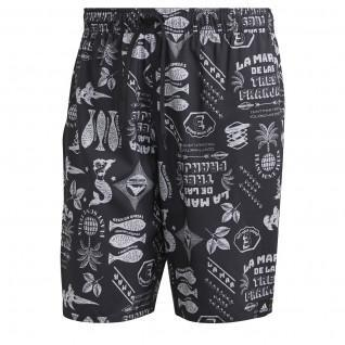 Short de natation adidas Length Graphic