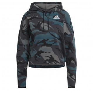 Sweatshirt femme adidas ZNE Hooded Aeroready