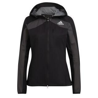 Veste à capuche femme adidas Adizero Marathon