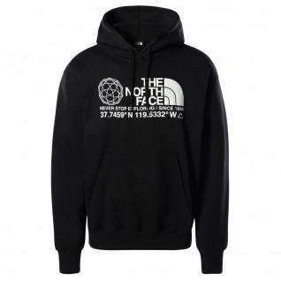 Sweatshirt à capuche The North Face Coordinates