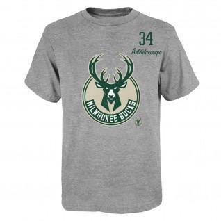 Maillot enfant Outerstuff Player NBA Milwaukee Bucks