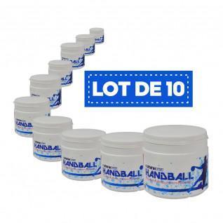 Lot de 10 Résines blanches haute performance Sporti France - 500 ml