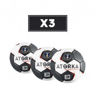 Lot de 3 ballons Atorka H900