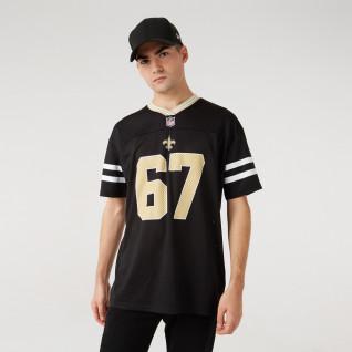 Maillot New Era Des New Orleans Saints Noir NFL Logo