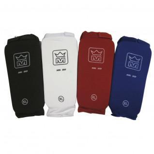 Protège tibias/pieds coton de kickboxing/fullcontact Montana MK 80