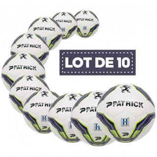 Lot de 10 ballons d'entrainement Patrick Hybrid Bullet