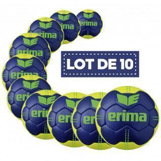 Lot de 10 Ballons Erima Pure Grip N° 4