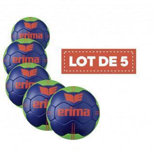 Lot 5 Ballons Erima Pure Grip N° 3