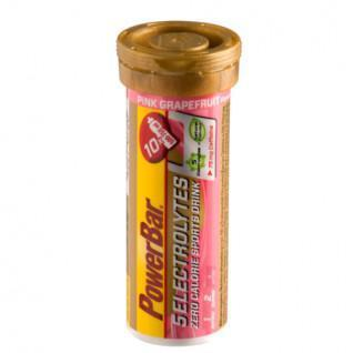 Pastilles PowerBar Electrolytes 5 - Pink Grapefruit caffeine (12X10 tabs)