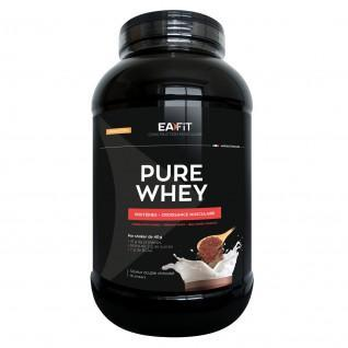 Pure Whey double chocolat EA Fit 2,2kg