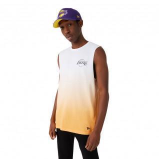 Débardeur New Era NBA Los Angeles Lakers dip dye