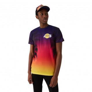 T-shirt New Era NBA Los Angeles Lakers summer city