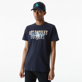 T-shirt New era Los Angeles Dodgers photographic wordmark