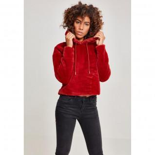 Sweatshirt femme Urban Classic Oversized teddy