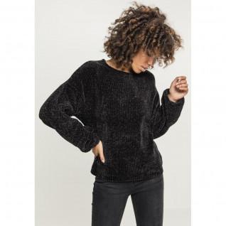 Sweatshirt femme Urban Classic chenille