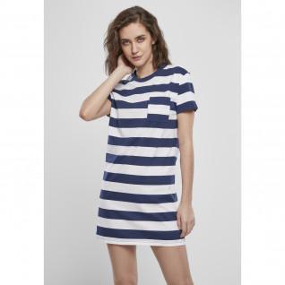 Robe femme Urban Classics stripe boxy