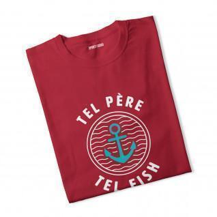 T-shirt garçon Tel Père Tel Fish