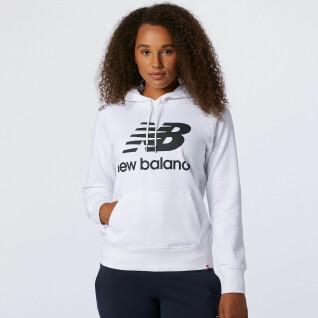Sweatshirt à capuche femme New Balanceessentials