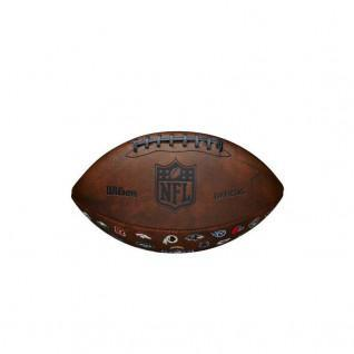 Ballon Wilson NFL OFF Trowback 32 Team Logo