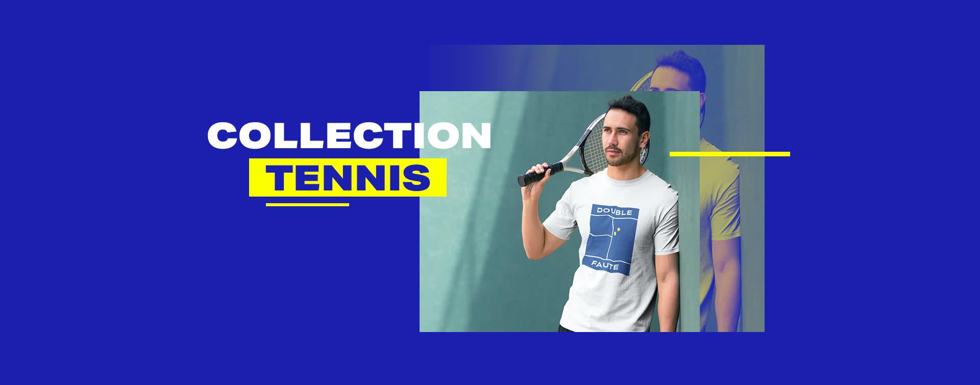 Nouvelle collection tennis